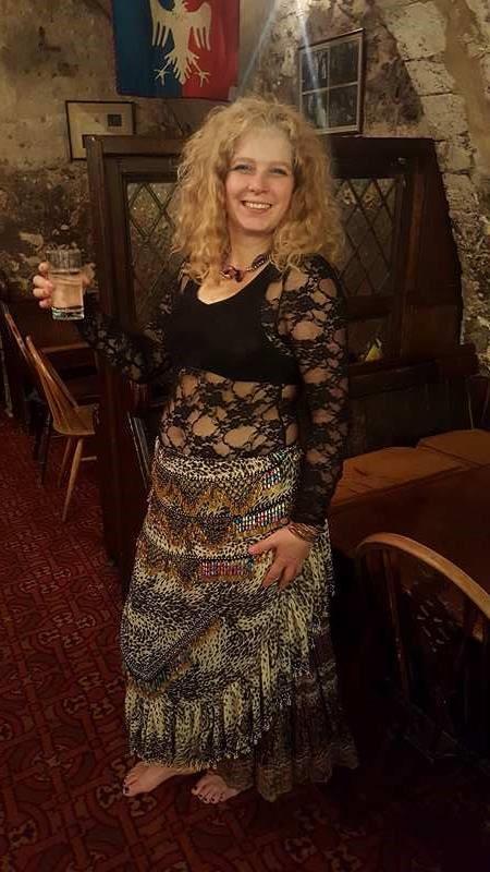 Rosie Chair of Mosaic Arabic Dance Network